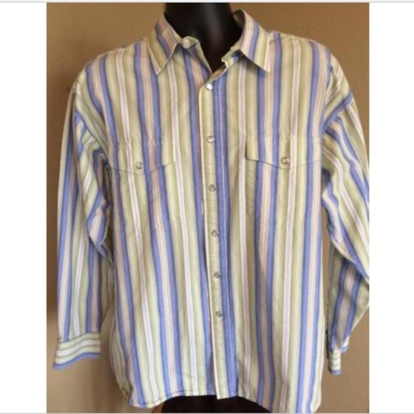 8c1d71996 Panhandle Slim Shirts   Mens L Pearl Snap Western Shirt   Poshmark